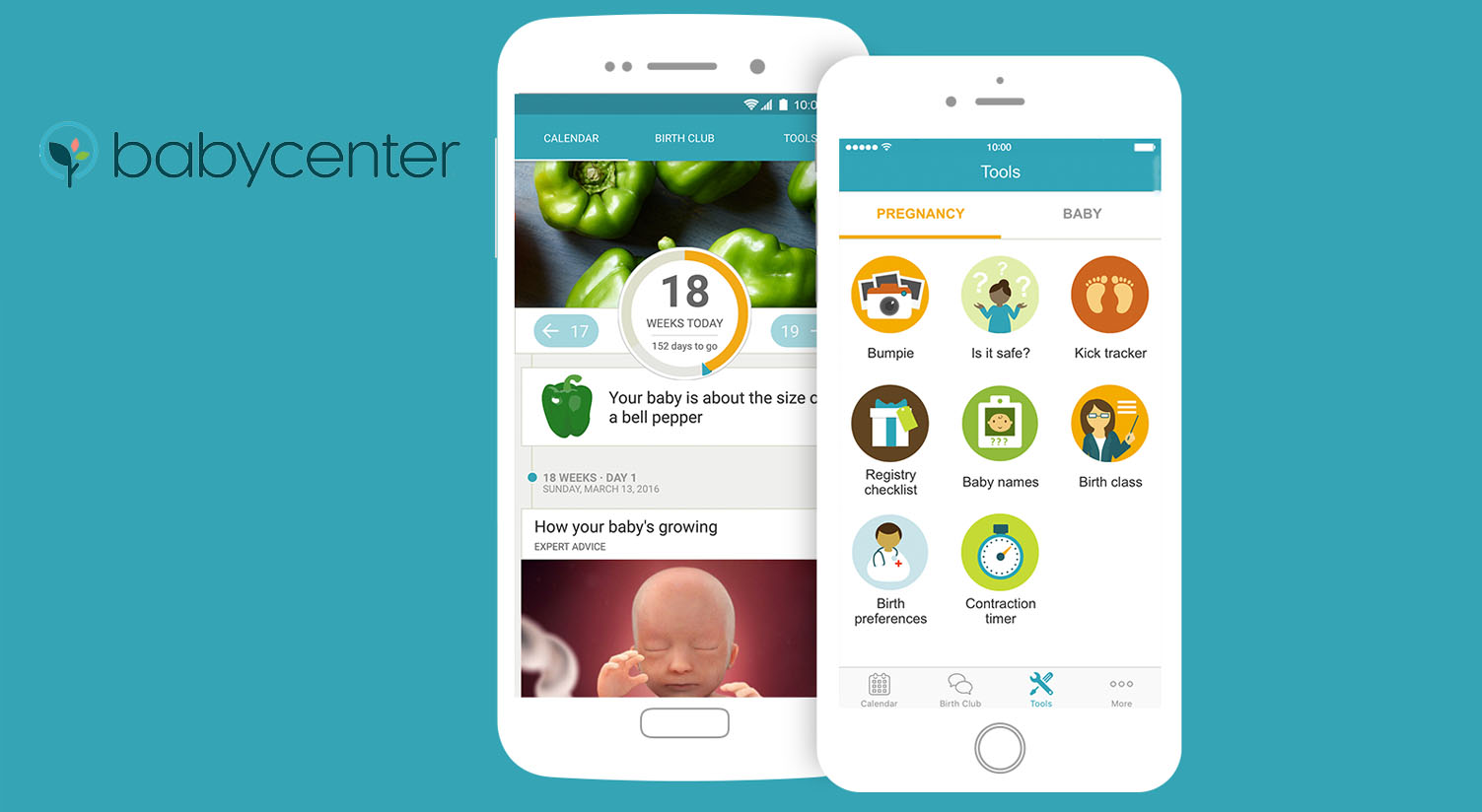 app embarazo Babycenter