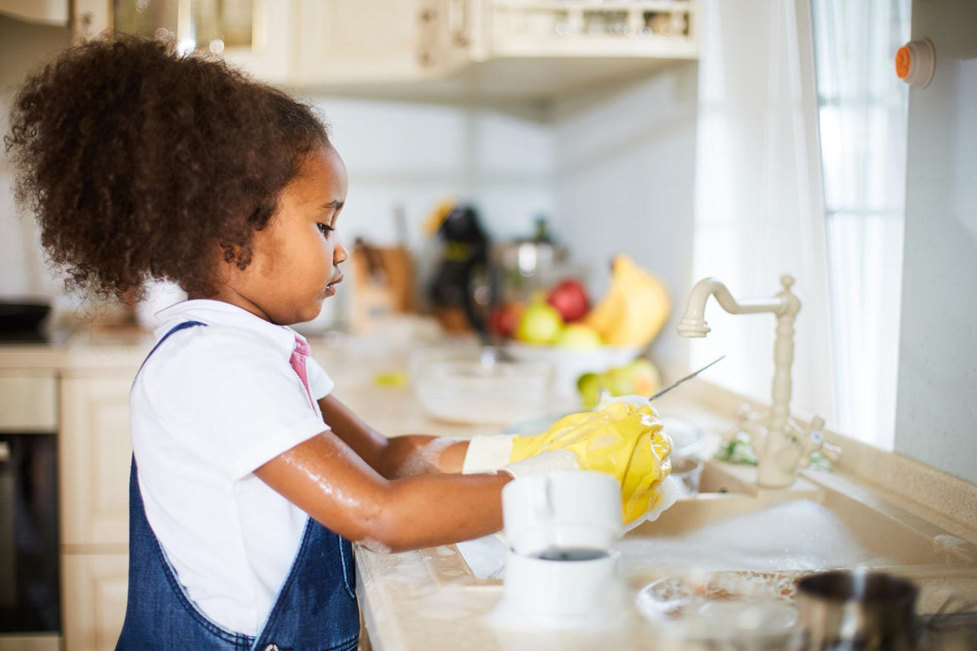 Tareas domésticas niños